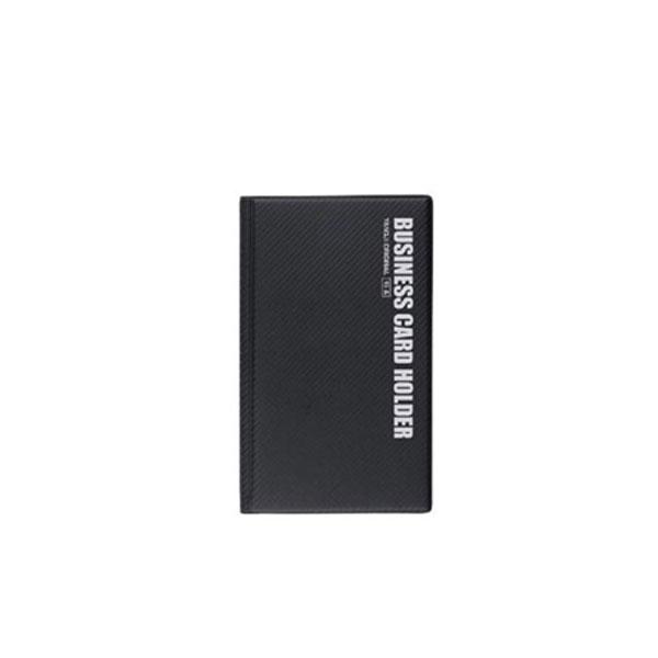 양지사 명함꽂이 1호 YSB0208 흑색 96포켓 명함지갑