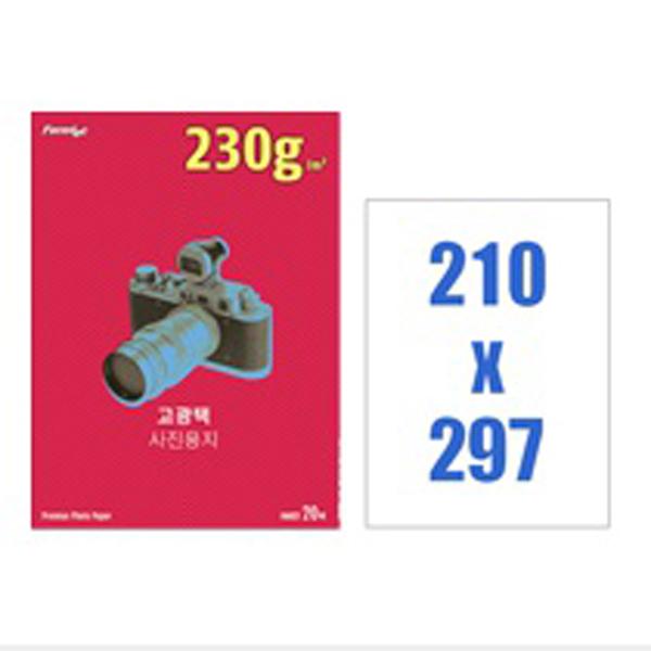 [폼텍]고광택포토용지 IH-6022