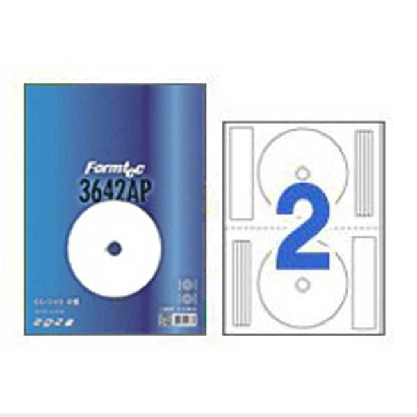 [폼텍]잉크젯CD/DVD용라벨 IS-3642AP유광